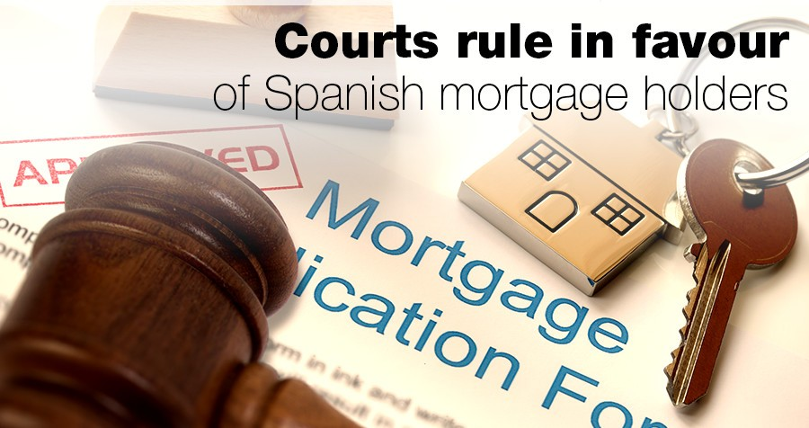 Courts rule in favour of Spanish mortgage holders