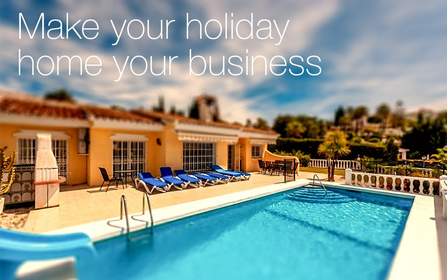 Make your holiday home your business