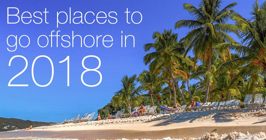 Best places to go offshore in 2018