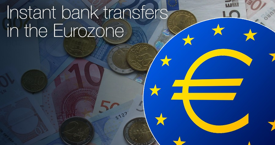 Instant bank transfers in the Eurozone