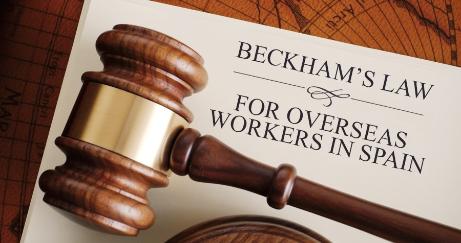 Beckham's law for overseas workers in Spain