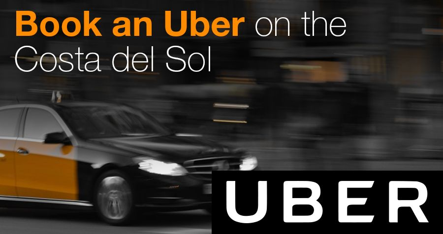 Book an Uber on the Costa del Sol