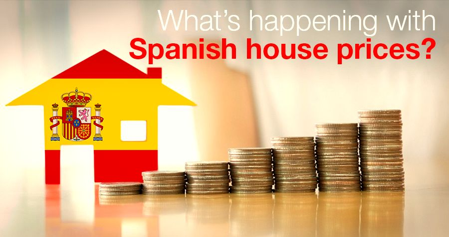 What's happening with Spanish house prices?