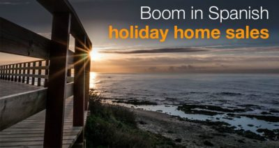 Boom in Spanish holiday home sales