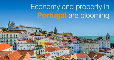 Economy and property in Portugal are blooming