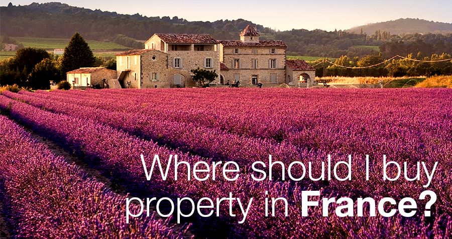 Where should I buy property in France?