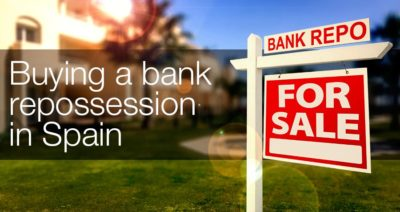 Buying a bank repossession in Spain