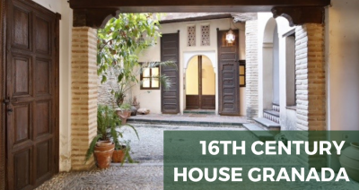 Unique 16th century house for sale in Granada