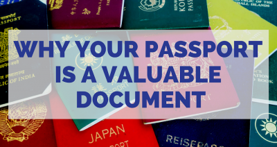Why your passport is a valuable document